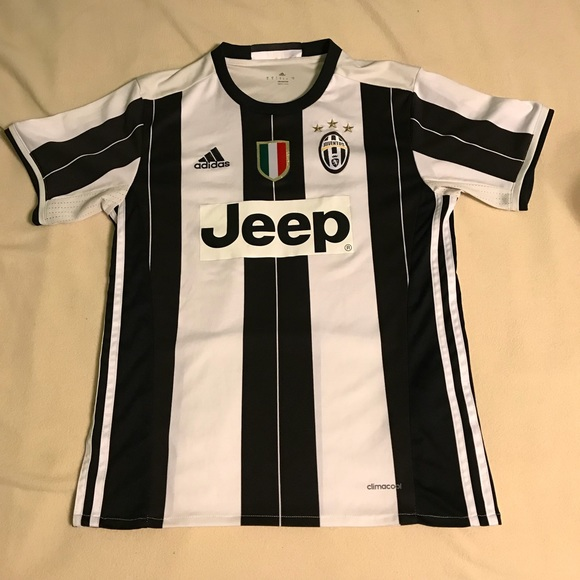 new concept 0a56f f9999 Adidas Juventus Jeep Soccer Jersey